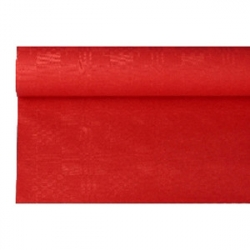 Скатерть в рул. красная 1.2*8м