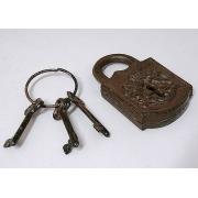 Замок + ключи 13х18см