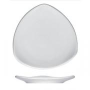 Тарелка треугольная «Опшенс», фарфор, L=11,B=11см, белый
