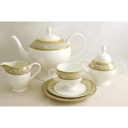 Чайный сервиз «Каролина» 21 предмет на 6 персон