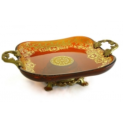 Декоративная ваза для фруктов 43х22х13 см «Неаполь»