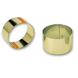 Кольцо кондит. d=7.5см, h=4см нерж.