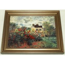 Картина «Дом художника» 31х25 см, фарфор,серия Monet