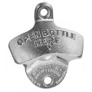 Открыватель для бутылок настенный, металл, L=7,B=8см