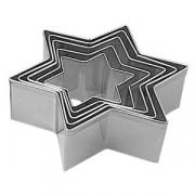 Набор резаков «Звезда» D=4.5-11.5см [6шт]; металл