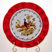 Набор тарелок «Мария - Охота красная» 27 см.