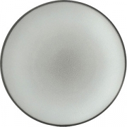 Тарелка мелкая «Экинокс» D=21.5, H=2.5см; серый