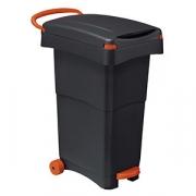 Урна для мусора на колесах 40*65см,h=81см