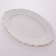 Блюдо овальное 34 см «Бернадот белый 311011»