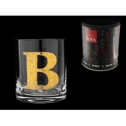 Стакан для виски (1 шт) Азбука Буква «B»
