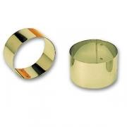 Кольцо кондит. d=6см, h=4.5см нерж.