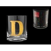Стакан для виски (1 шт) Азбука Буква «D»