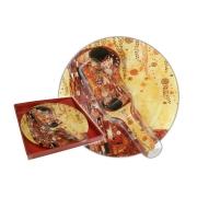 Тарелка для торта с лопаткой Поцелуй (Г. Климт)