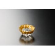 Салатник 12 см «Монтана» золото