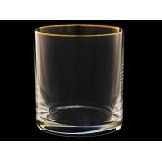 Стакан для виски Гольф Золотая отводка