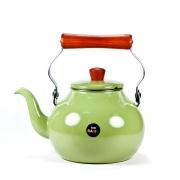 Чайник 2,3 л оливковый с деревян.ручкой «Бэйсик Авокадо»