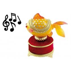 Музыкальная шкатулка «Рыбка»