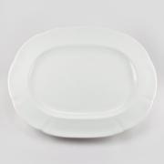 Блюдо овальное 32см «White»