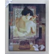 Картина 60х110см «Забвение» Японский мотив