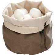 Корзина для хлеба текстильная с камнями