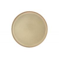 Тарелка обеденная Comet (песочный) в индивидуальной упаковке