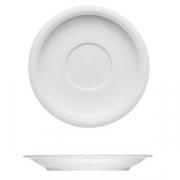 Блюдце «Штутгарт», фарфор, D=16см, белый