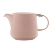 Чайник с ситечком Оттенки (розовый) в индивидуальной упаковке