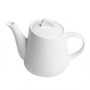 Чайник «Перла», фарфор, 270мл, белый