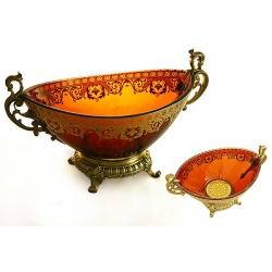Декоративная ваза для фруктов 34х21х19 см «Неаполь»