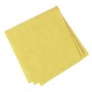 Салфетки «Папирус» 24*24см [400шт], бум. салфет., H=16,L=25,B=12.5см, желт.