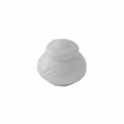 Солонка «Бочонок» «Аркадия», фарфор, D=70,H=65,B=50мм, белый