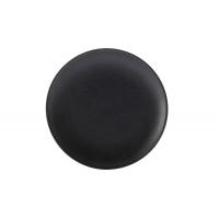 Тарелка закусочная (чёрная) Икра без инд.упаковки