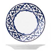 Тарелка мелкая «Восток Голд», фарфор, D=24см, синий,золотой