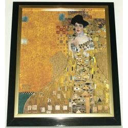 Картина «Адель»,серия Klimt, фарфор, 45х37 см. Подарочная упаковка