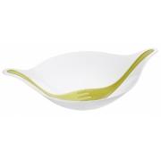 Миска «Лиф Эл+» (LEAF L+) Koziol 3 л.  (3л.) белый/зеленый/оливковый