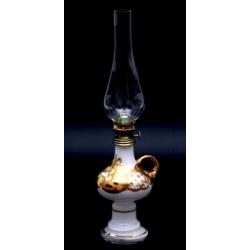 Лампа керосиновая «Лепка белая»