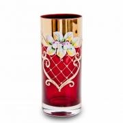 Набор стаканов 300 мл. 6 шт. «Лепка красная»