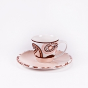 Чайная пара: чашка 180мл. с блюдцем 16,4см «Гармония»