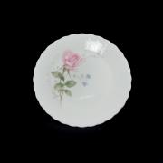 Набор 6 тарелок пирожковых 17см. «Апрельская роза»