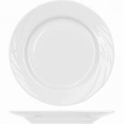 Тарелка мелкая «Голубка» D=17.5см; белый
