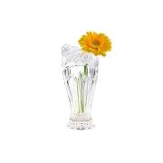 Хрустальная ваза для цветов Цветок розы матовый
