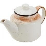 Чайник «Пастораль» фарфор; 775мл; оранжев.