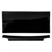 Тарелка для суши «Кунстверк», фарфор, H=28,L=320,B=140мм, черный