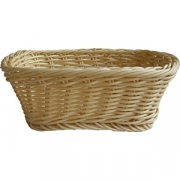 Корзина для хлеба прям. плетен. 22*17*8см