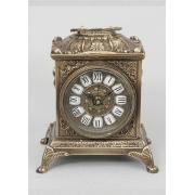 Часы квадратные каштан 22х18 см.