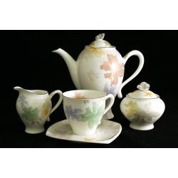 Чайный сервиз из 15 предметов на 6 персон «Орхидея»