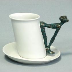Чашка с блюдцем «Сизиф»