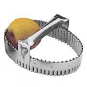 Резак конд.рифл.; сталь нерж.; L=17,B=12.5см