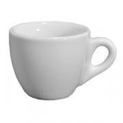 Чашка кофейная «Верона», фарфор, 80мл, белый