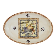 Блюдо овальное Старая Тоскана